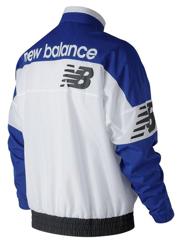 New Balance Windbreaker Pullover - Team Royal