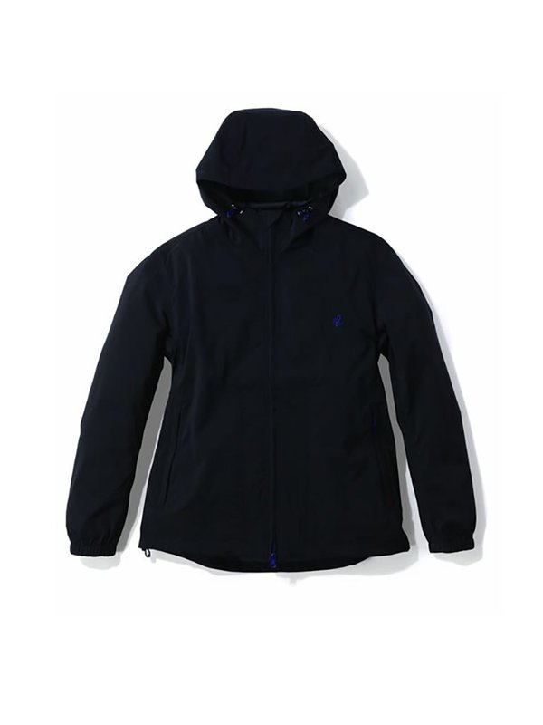 Gramicci Nylon Taslan Packable Hooded Jacket - Black