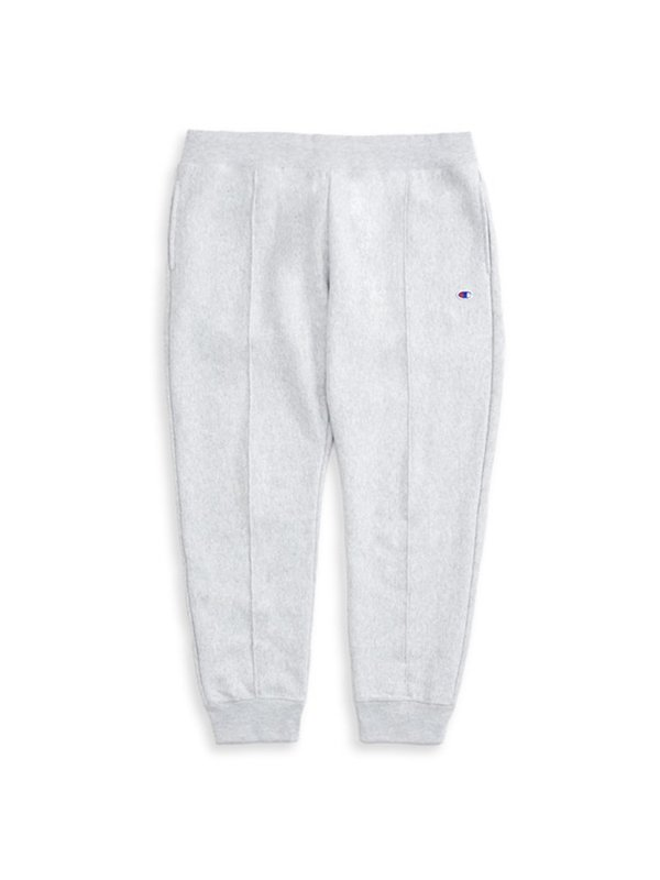 Champion Premium Reverse Weave Rib Cuff Sweatpants - Grey