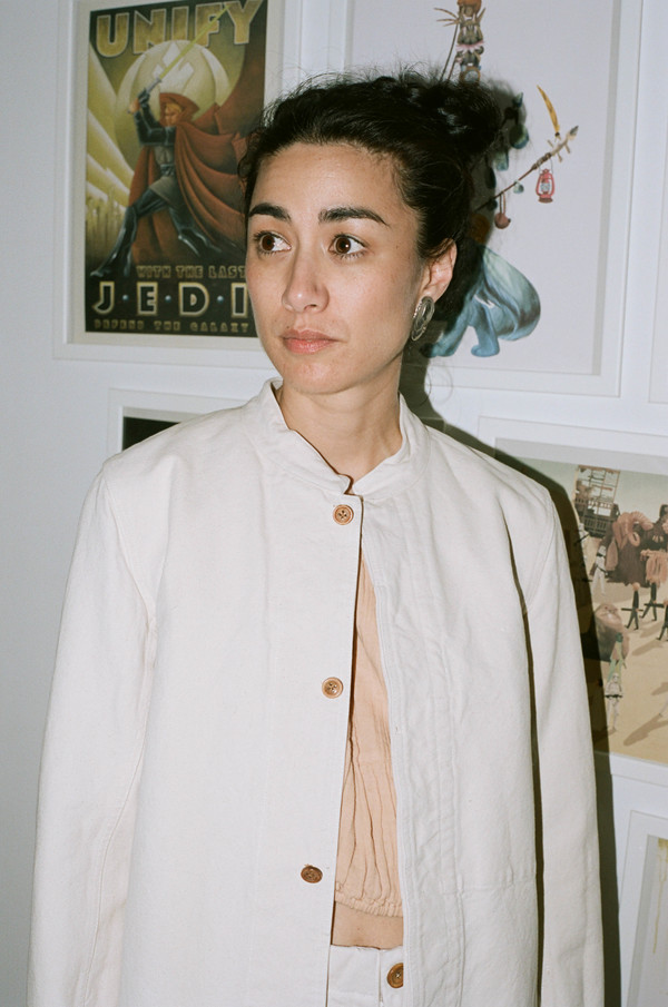 Caron Callahan Mc Ghie Shirt   White Canvas by Garmentory