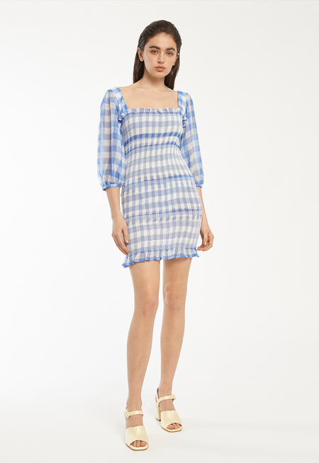 Capulet Siobhan Dress - Blue Gingham
