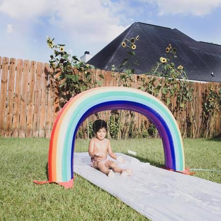 KIDS Sunnylife Rainbow Slip Slide Splash - MULTI