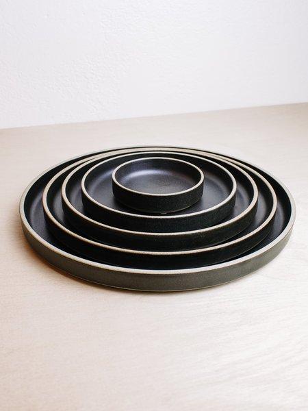 Hasami Porcelain Plates - Black