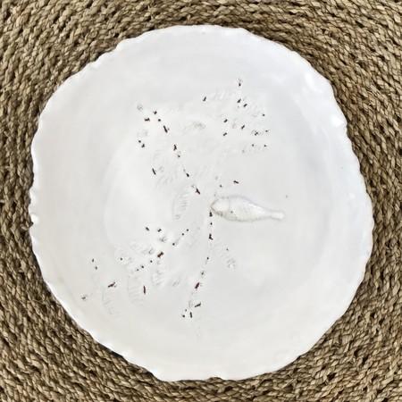 Lisa Neimeth Ceramics Live Edge Plate