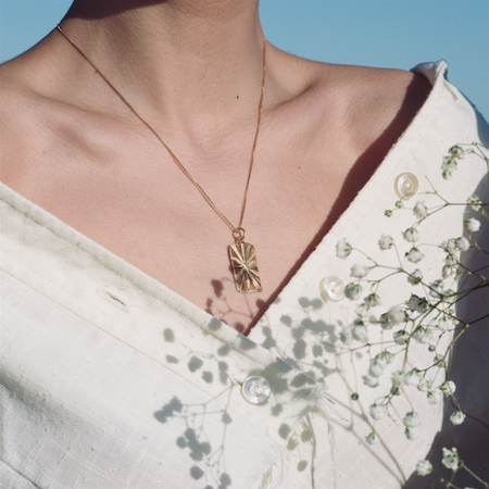 Eleventh House Golden Hour Necklace