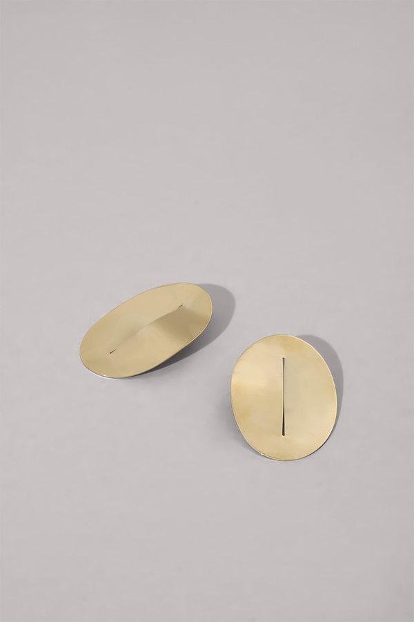 Anne Thomas Acapulco Earrings - 18k Gold Plated