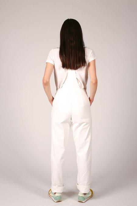 Nahanni Arntzen Valerie Denim Overalls - White