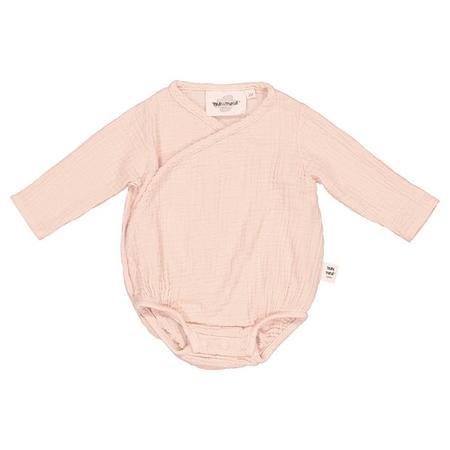 KIDS Moumout Paris Flora Muslin Bodysuit - Nu Pink