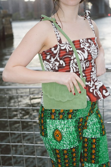 CAB Collection Shell Fanny Pack - Celery