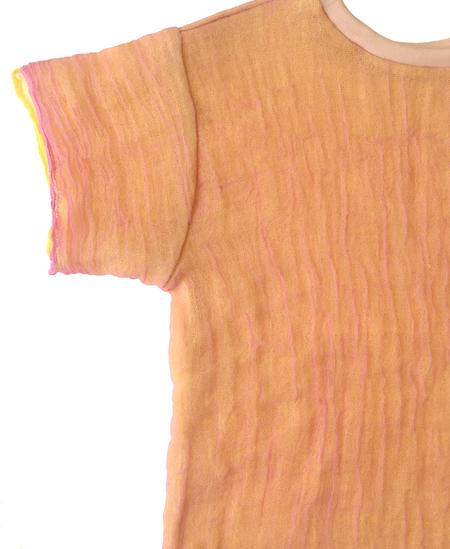 Halo Labels Gauze T-shirt - Peach