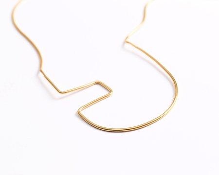 Shizing Crop Necklace Round