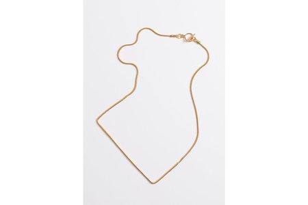 Shizing Line Necklace