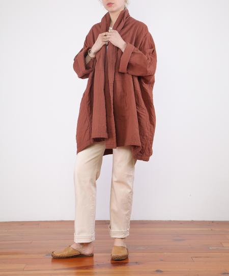 Atelier Delphine Haori Coat - BRICK