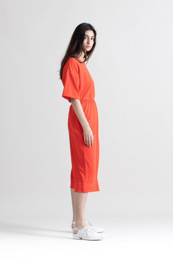 Toit Volant Desert Short Sleeve Top - Tangerine