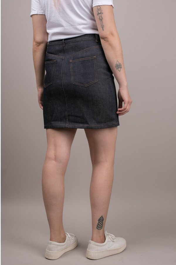 A.P.C. Standard Skirt - Raw Indigo