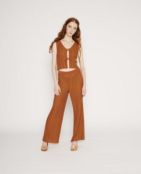 Paloma Wool Querido pants - Orange