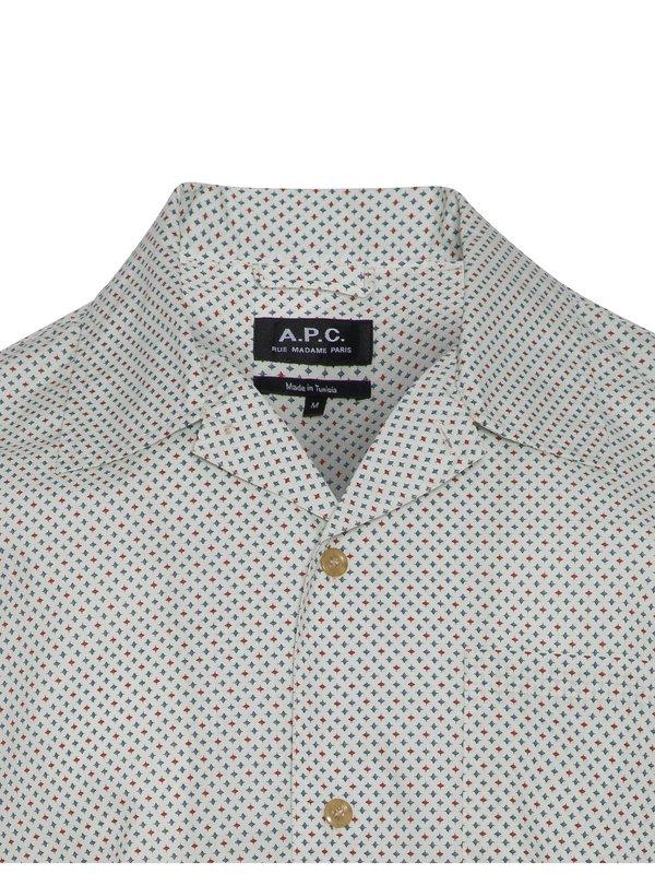 A.P.C. Michael Shirt - white