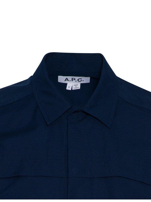 A.P.C. Midway SS Shirt - navy