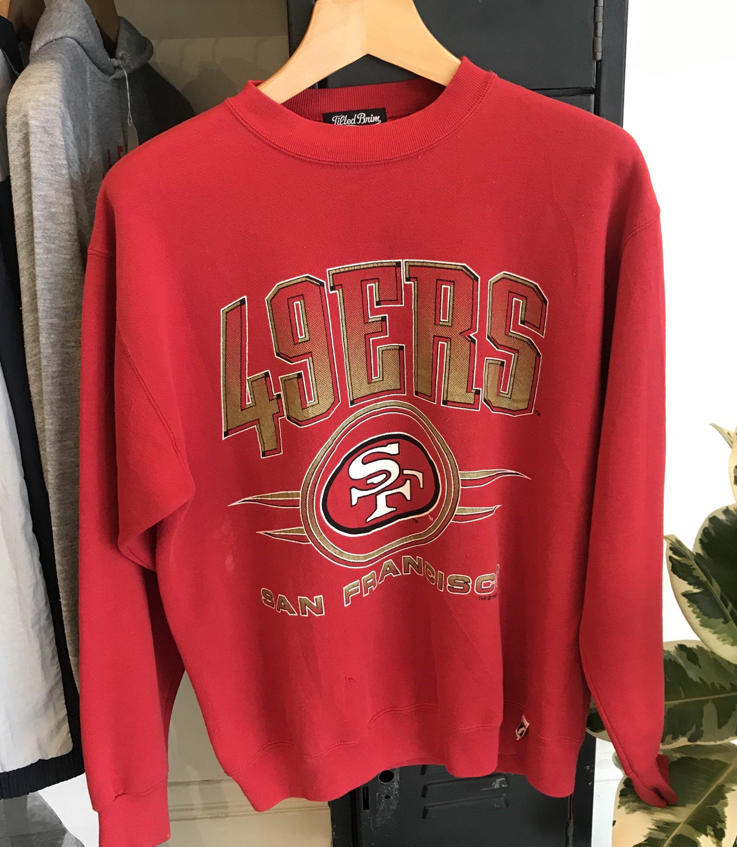 super popular c5dad f26e0 Vintage San Francisco 49ers Sweatshirt - Red
