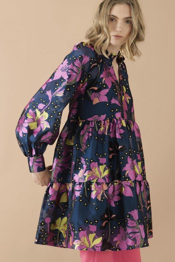 dfc6eb61 STINE GOYA Jasmine Dress - Daffodil Indigo | Garmentory