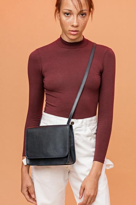 LE BAS Shoulder Bag - Navy Blue