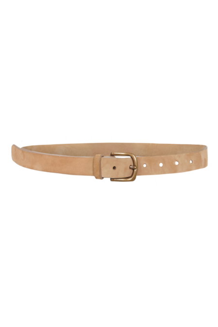 Arje Nic Narrow Suede Belt