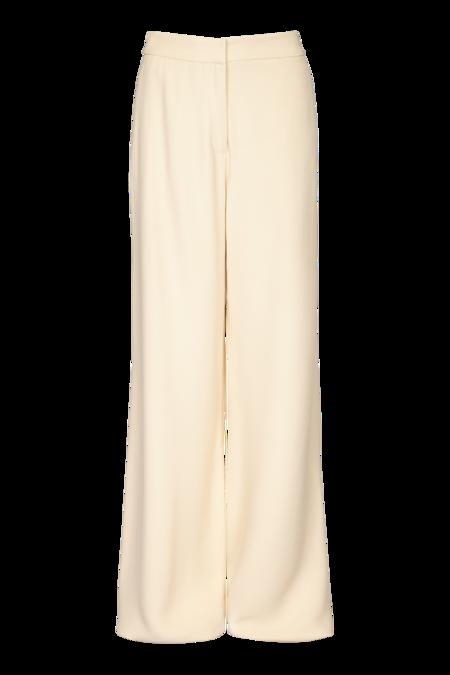 Arje Franci Tailored Crepe Trouser - Vanilla