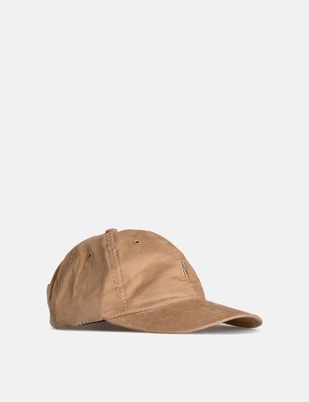 Norse Projects Baby Corduroy Sports Cap - Utility Khaki