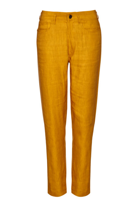 Arje Kora Five Pocket Pant - Saffron
