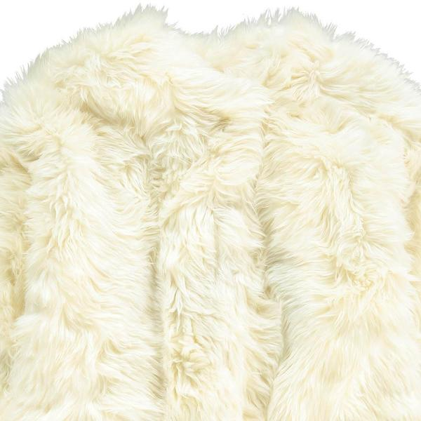 kids Tambere Shag Coat - Ivory