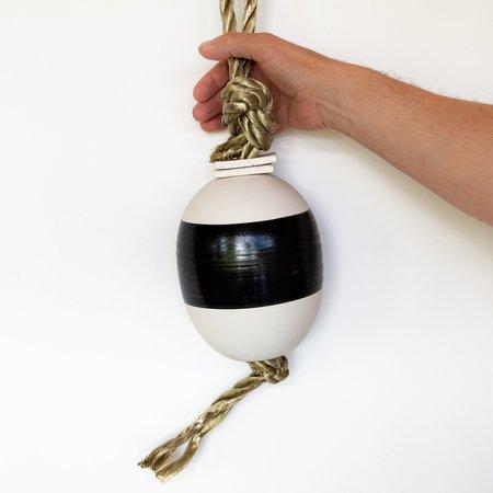 Atelier Trema Small Hanging Buoy - Black/White