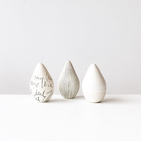 Atelier Trema Set of 3 Handmade Decorative Pears