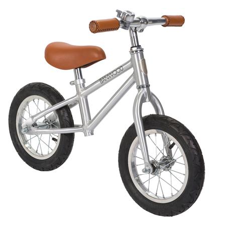 Kids Banwood First Go! Chrome Balance Bike