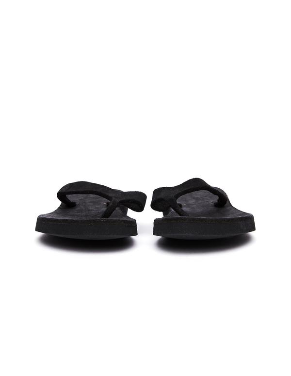 Guidi Leather Flip Flops - Black