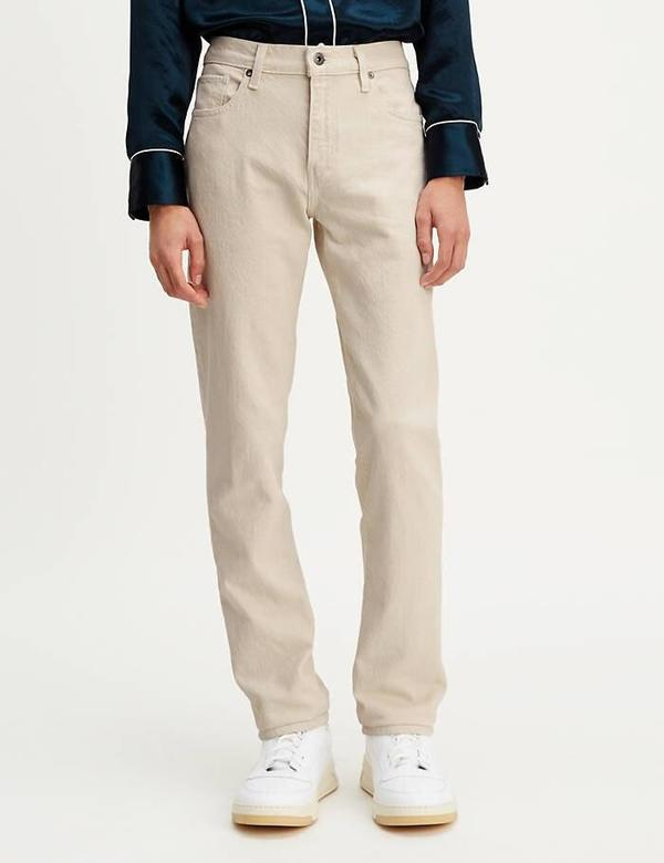 Levis Made & Crafted 511 Slim Fit Jeans (Stretch) - Ecru/White