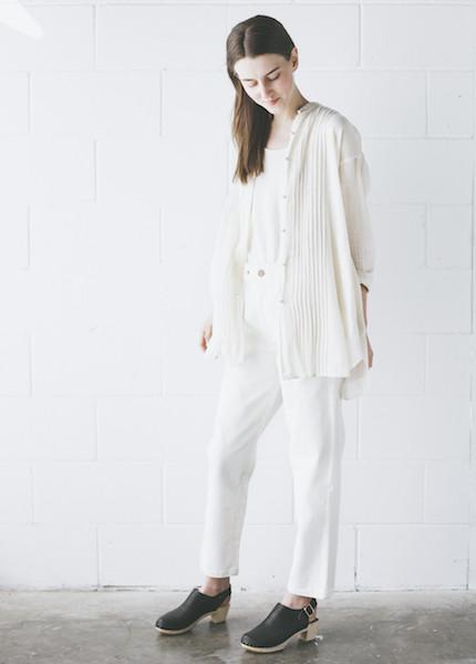 Maiwa - Rajasthan Shirt in Cream