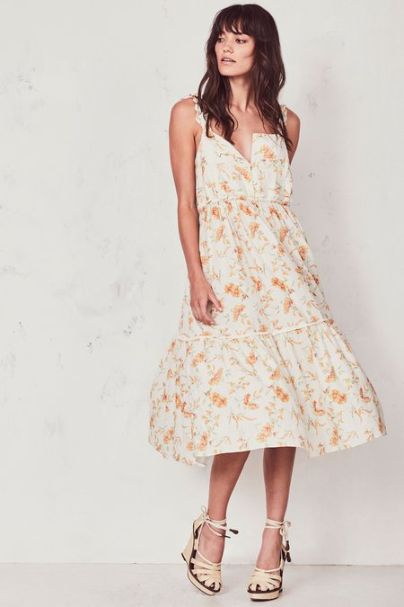 LoveShackFancy Ann Dress - Sunshine