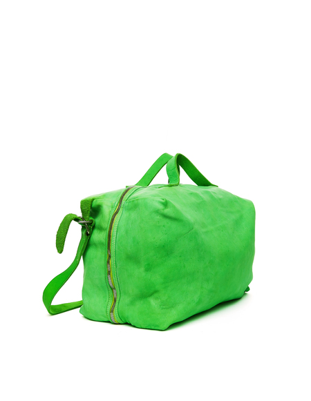 Guidi Lather Bag - Green
