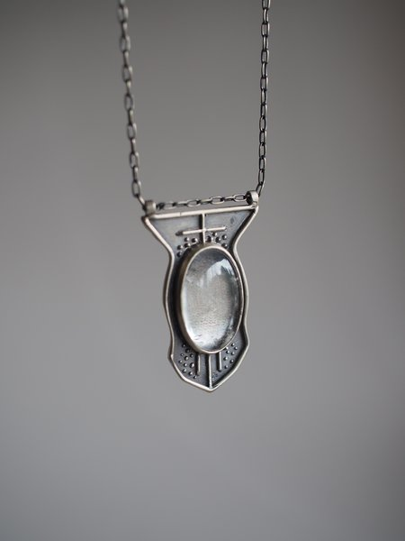 Acid Queen Jewelry Cassiopea Pendant Necklace - Quartz/Sterling silver