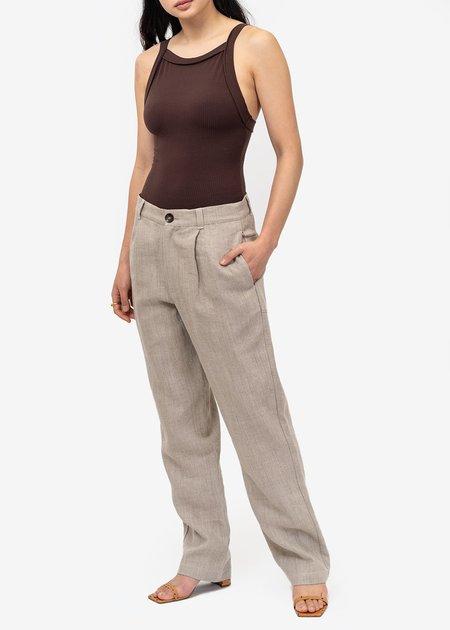 Angie Bauer Tamari Holland Bodysuit - Tamari brown