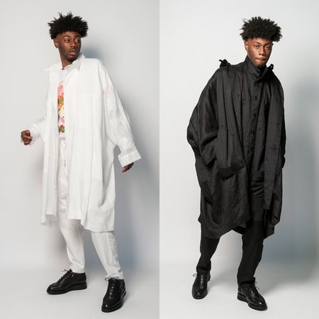 Monitaly Linen Batman Coat