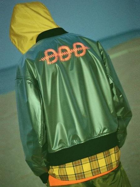 DBYDGNAK DDD Urethane Ma-1 - BLACK