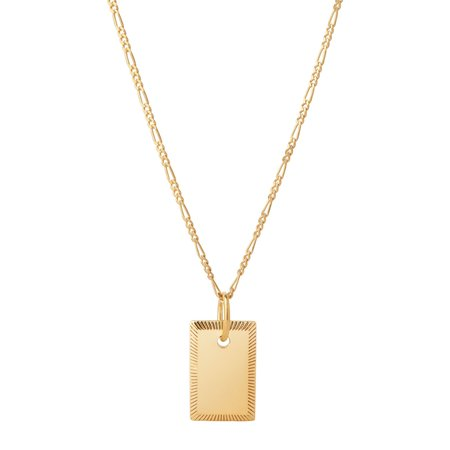 Maria Black Eliza Necklace - Gold plated