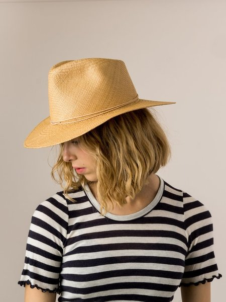 Brookes Boswell Prescott Hat - Panama Straw