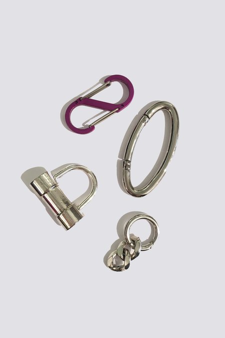 Martine Ali XL Lock Keychain - Purple