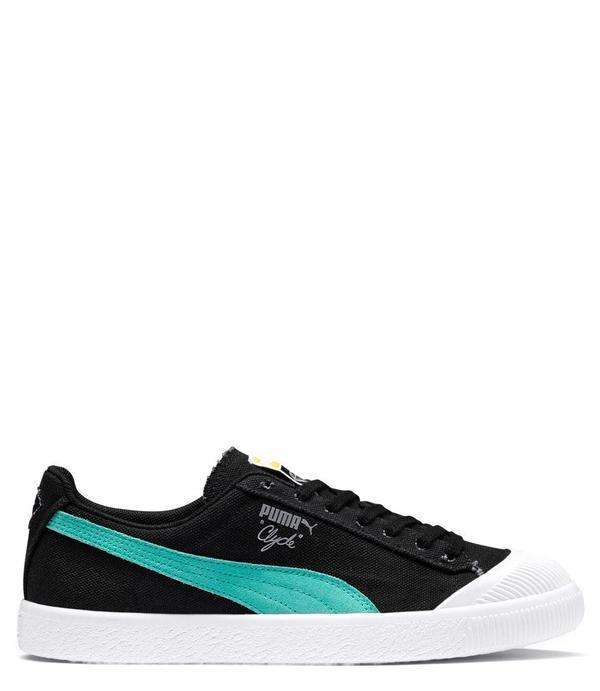 low priced 6bd30 9e3dd Puma x Diamond Supply Clyde Sneaker - black/blue on Garmentory