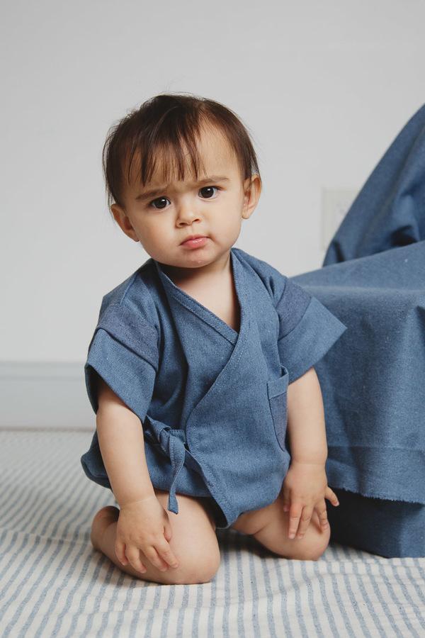 Baby Kiboro Neue Bolsillo - blue