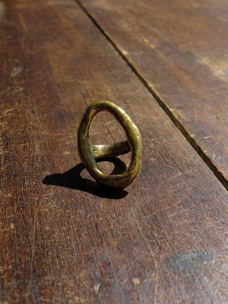 nan collymore NN brass melissa ring