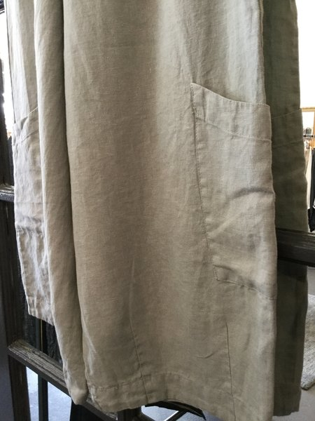 Bryn Walker Crop Linen Pants
