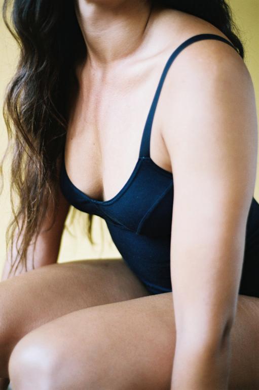 The Nude Label Basic Bodysuit- Black